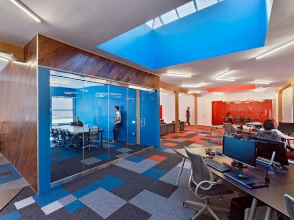 Креативный интерьер офиса 1