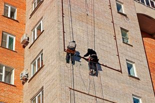 Высотные работы. Промышленный альпинизм в Санкт-Петербурге