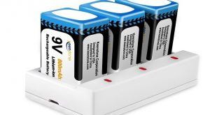 Keenstone-9V-800mAh-Rechargeable-Li-ion-Battery