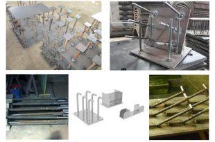 Строительные металлоконструкции. Закладные детали