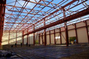 В чем преимущество зданий, возведенных на основе металлоконструкций