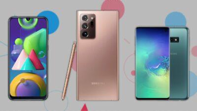 Лучшие модели смартфонов Самсунг Galaxy в 2021